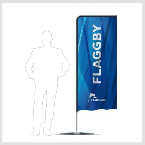 Beachflagga Urban 70x205cm