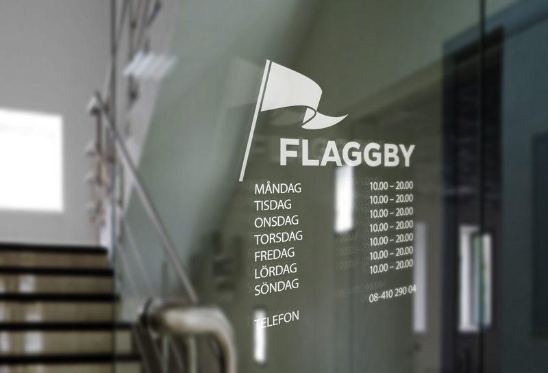Flaggby flaggor