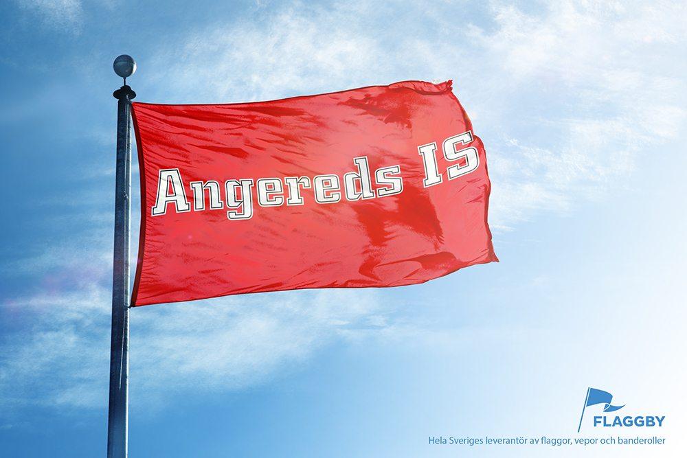 Föreningsflagga Angereds IS