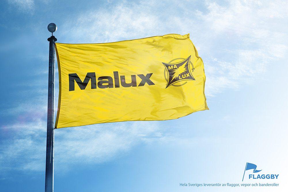 Flagga Malux