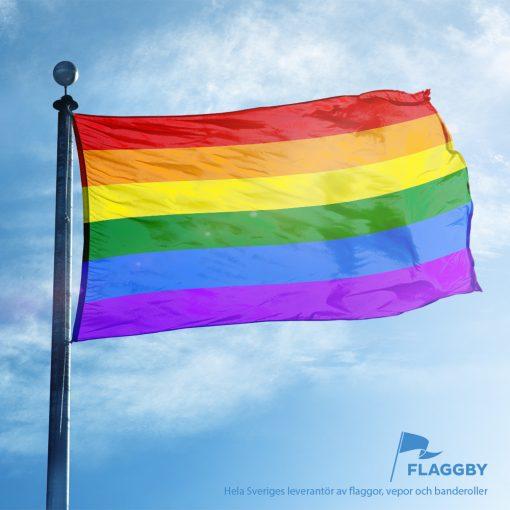 Prideflagga Flaggby