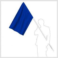 Signalflagga blå