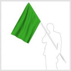 Signalflagga grön
