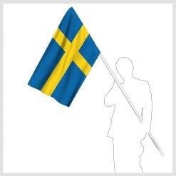 Signalflagga i nationsfärger