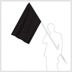 Signalflagga svart