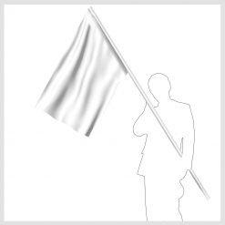 Signalflagga vit
