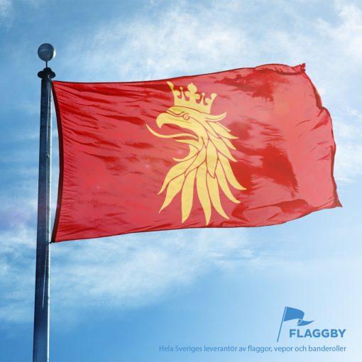 Skåne vapenflagga