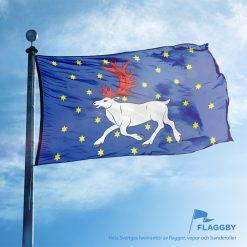 Västerbottens flagga