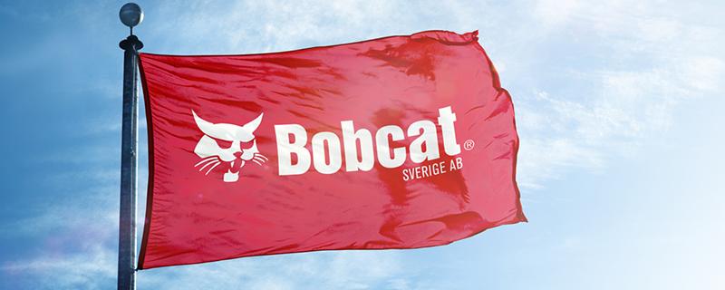 Bobcat företagsflaggor