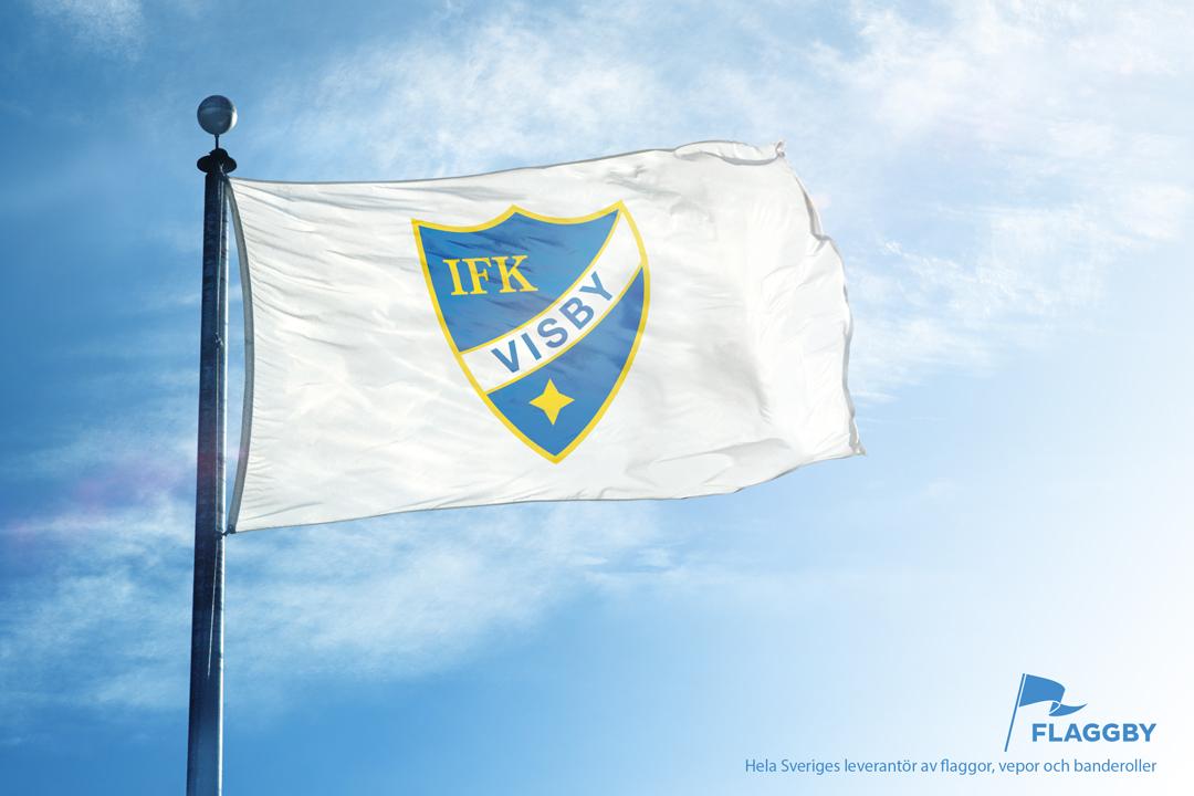 Föreningsflagga IFK Visby
