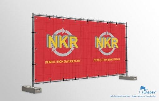 Byggstaket NKR Rivning
