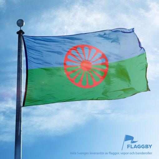Romernas flagga